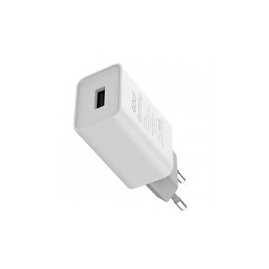 СЗУ GOLF GF-U1L Lightning (EU) Plug white