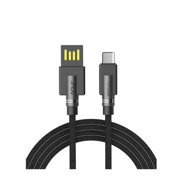 Переходник на MacBook Кабель Golf USB Type-C GC-54 1M Black