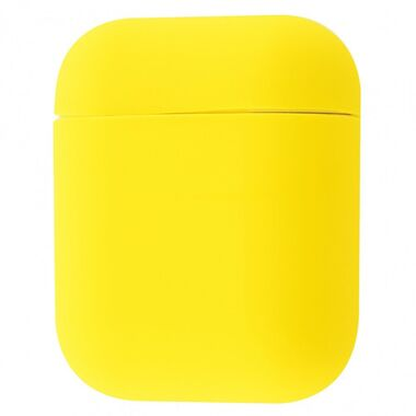 Чехол Silicon case for AirPods Yellow