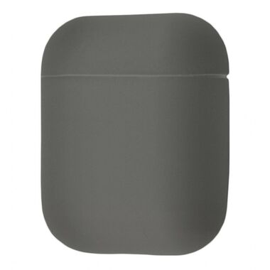 Чехол Silicone case for AirPods Blue Gray