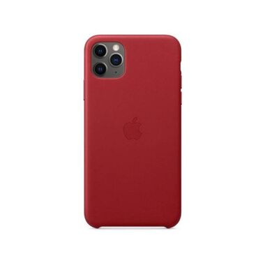 Чехол Apple Leather Case for iPhone 11 Pro Red