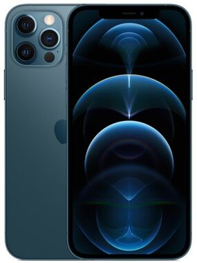 New Apple iPhone 12 Pro Max 256Gb Pacific Blue Dual Sim