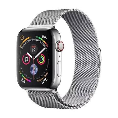 Б/У Apple Watch Series 4 GPS + LTE 40mm Stainless Steel Case with Milanese Loop