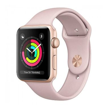 Б/У Apple Watch Series 3 GPS 42mm Gold Aluminum Case with Pink Sand Sport Band