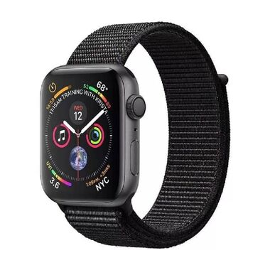 Б/У Apple Watch Series 4 GPS + LTE 40mm Space Gray Aluminum Case with Black Sport Loop