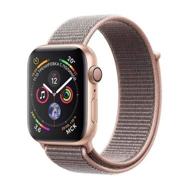 Б/У Apple Watch Series 4 GPS + LTE 40mm Gold Aluminum Case with Pink Sand Sport Loop