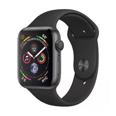 Б/У Apple Watch Series 4 GPS + LTE 40mm Space Black Stainless Steel Case with Black Sport Band