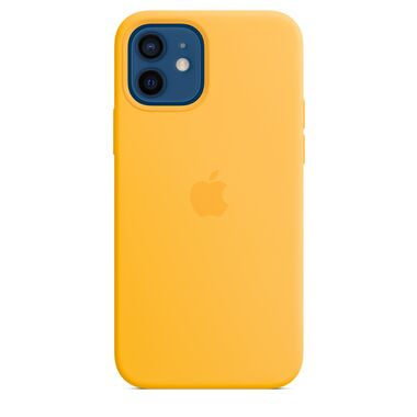 Apple Silicone Case for iPhone 12/12 Pro Sunflower