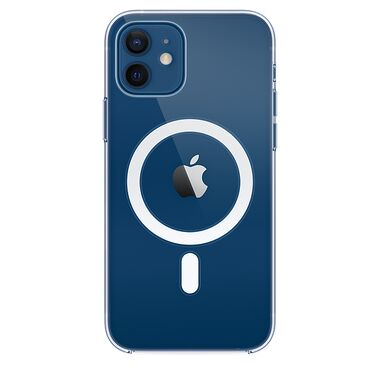 Чехол Apple Clear Case for iPhone 12 Mini With MagSafe
